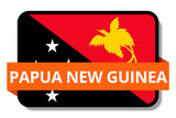 Papua New Guinea State Flags Stickers