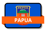 Papua State Flags Stickers