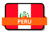 Peru State Flags Stickers