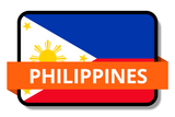 Philippines State Flags Stickers