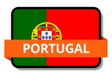 Portugal State Flags Stickers