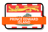 Prince Edward Island PE Online Stickers (Label) Shop Auto Car LandsAndPoeple.com