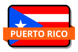 Puerto Rico State Flags Stickers