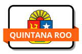 Quintana Roo State Flags Stickers