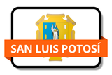 San Luis Potosí City Names Stickers