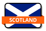 Scotland State Flags Stickers