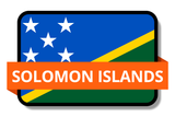 Solomon Islands State Flags Stickers