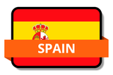 Spain State Flags Stickers