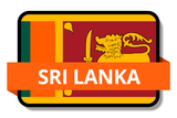 Sri Lanka State Flags Stickers