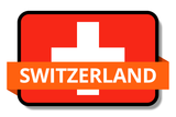 Switzerland State Flags Stickers