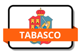 Tabasco State Flags Stickers