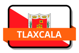 Tlaxcala State Flags Stickers