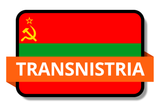 Transnistria State Flags Stickers