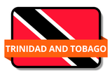 Trinidad and Tobago State Flags Stickers