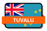 Tuvalu State Flags Stickers