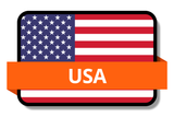 USA State Flags Stickers