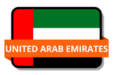 United Arab Emirates State Flags Stickers