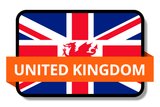 United Kingdom State Flags Stickers