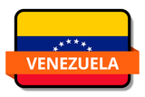 Venezuela State Flags Stickers