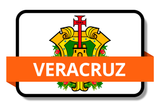 Veracruz State Flags Stickers
