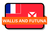 Wallis and Futuna State Flags Stickers