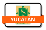 Yucatán State Flags Stickers