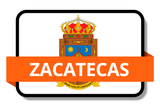 Zacatecas City Names Stickers