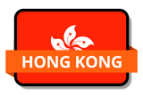 Hong Kong State Flags Stickers