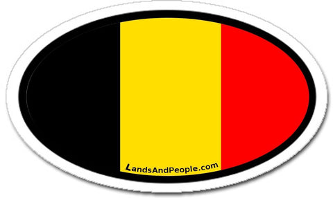 Flag Of Belgium Sticker
