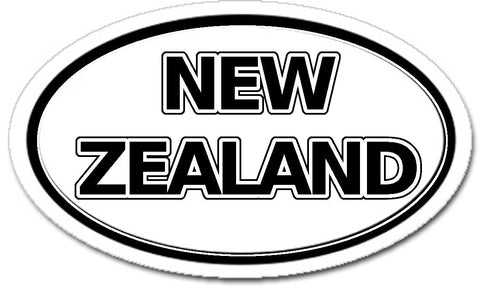 New Zealand Car Bumper Sticker Decal