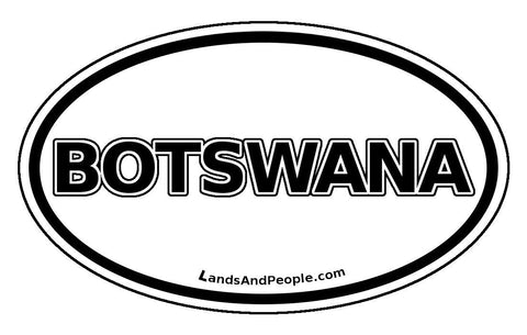 Botswana - Lands & People