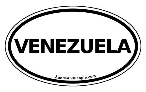 Venezuela Car Bumper Sticker Decal