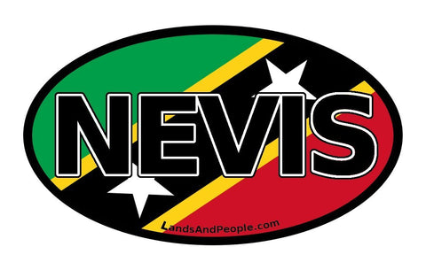 Nevis Car Bumper Sticker Decal