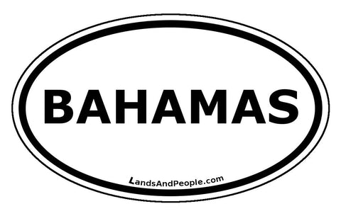 Bahamas Car Sticker