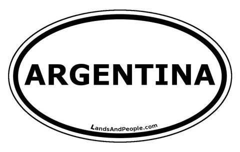 Argentina Car Bumper Sticker