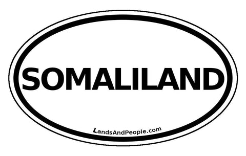 Somaliland Car Bumper Sticker Decal