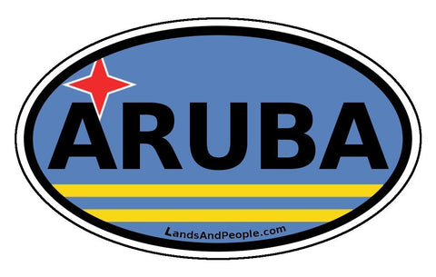 Aruba Car Bumper Sticker Decal