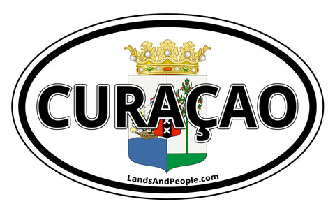 Curaçao Car Bumper Sticker Decal