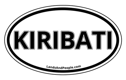 Kiribati Car Bumper Sticker