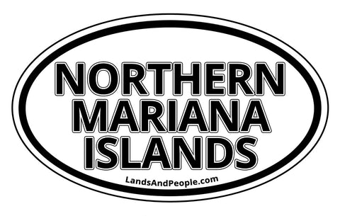 Northern Mariana Islands Car Bumper Sticker
