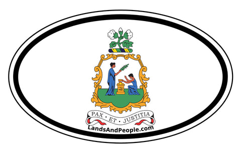Saint Vincent and the Grenadines Car Bumper Sticker