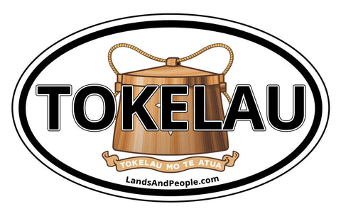 Tokelau Coat of Arms Car Bumper Sticker Decal