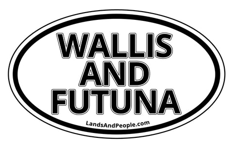 Wallis and Futuna Car Bumper Sticker Decal
