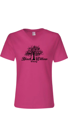Woman's Short Sleeve V-Neck