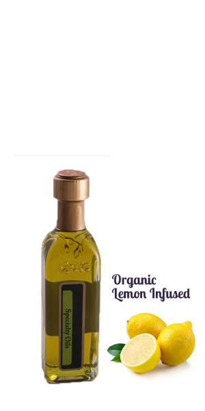 Organic Lemon Infused Olive Oil