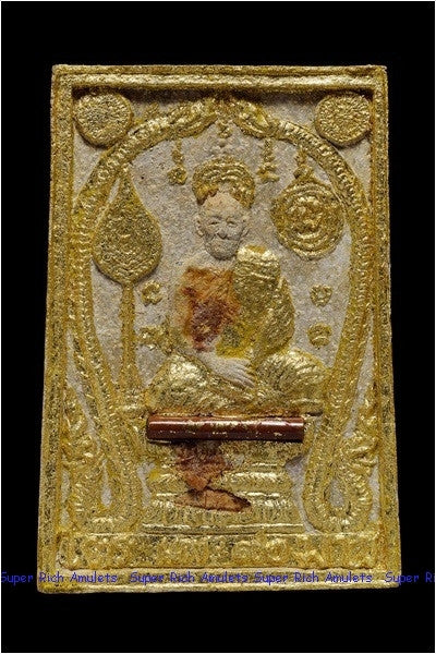 Picture of Thai amulet named LP Pae Somdej amulet Holy blood