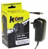 Korr Lighting 240V to 12V 36W Transformer