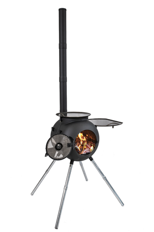 Ozpig Series 2 Portable Wood Fired BBQ Stove and Heater