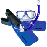Oceanpro Tour Mask, Fin & Snorkel Set with Bag