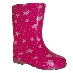Aussie Gumboot Pink Sparkle Splash
